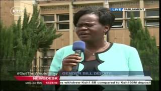 MPs Set To Vote On The Crucial Gender Bill.