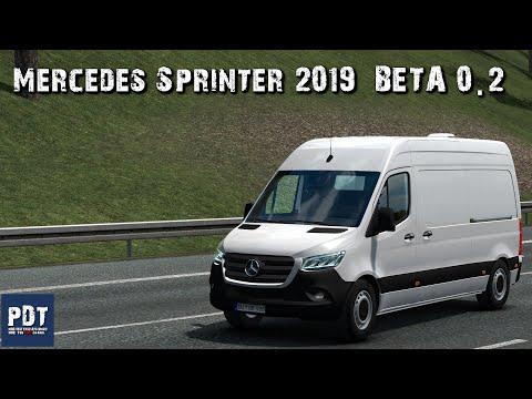Mercedes Sprinter 2019 BETA v0.2 KacperKWC 1.36