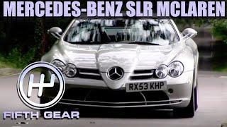 Tiff's Mercedes-Benz SLR McLaren Track Test | Fifth Gear by Fifth Gear