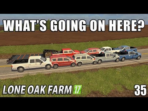 THERE IS ALWAYS SOMETHING TO LAUGH AT! | Lone Oak Farm | Farming Simulator 17 | #35