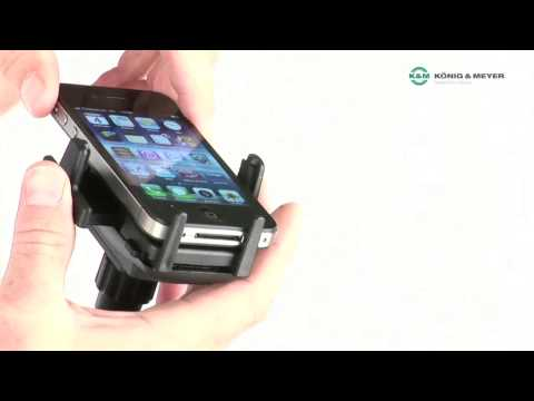 Video - K&M Universal Smartphone Holder | KM745