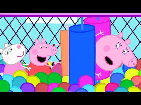 Peppa Pig Français 💙 Les Jeux Gonflables 💙 Compilation Spéciale | Dessin Animé Pour Bébé