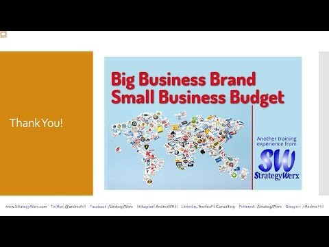 how to budget in a small business