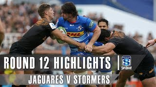 Jaguares v Stormers Rd.12 2019 Super rugby video highlights | Super Rugby Video Highlights