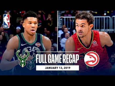 Video: Full Game Recap: Bucks vs Hawks | Trae Young Goes For 26 Points & 10 Rebounds