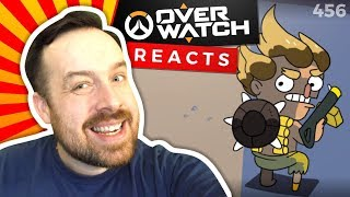 Animation Reaction: ENEMY JUNKRAT + Junkrat Steals McCree's Hat