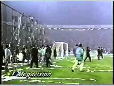Gol de Barticciotto a Boca, transmisión original MEGA - Garra Blanca - Colo-Colo