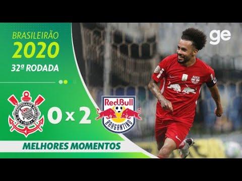 CORINTHIANS 0 X 2 BRAGANTINO | MELHORES MOMENTOS | 32ª RODADA BRASILEIRÃO 2020 | ge.globo
