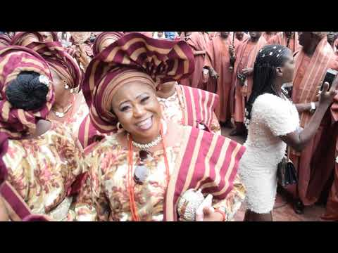 Egbe Bobagunte's Fashion Style Revealed @ 2019 Ojude Oba