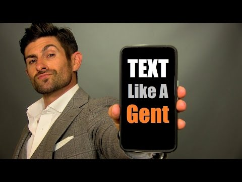 How To Text Like A Gentleman | 10 Texting Tips