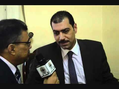 لقاء مع اول عضو مجلس لنقابة محامين مطروح