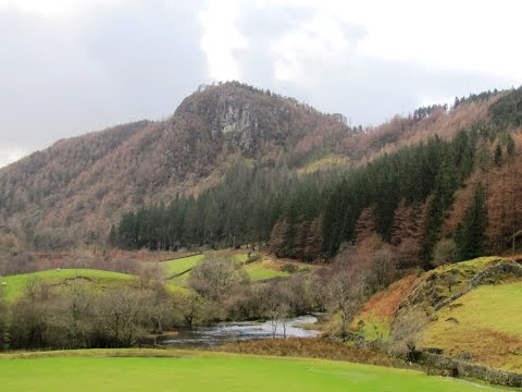 Thirlmere   Castle Crag Fort from Legburthwaite round | cumbria  Walks