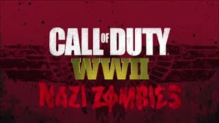 Call of Duty WWII Nazi Zombies Reveal Trailer