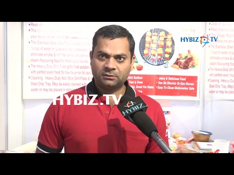 C V Singh-Furniture Expo 2017 Hitex Hyderabad
