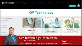 In this video explore the KW Technology Resources page on KW Connect to learn more about the technology at KW with support...