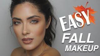 Super Easy Monochromatic Fall Makeup Tutorial   Melissa Alatorre