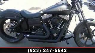 1. 2012 Harley-Davidson Dyna Glide Street Bob - FXDB - Arrowhe