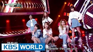 Video Unnies - Right? | 언니쓰 - 맞지? [Music Bank Hot Debut / 2017.05.12] download in MP3, 3GP, MP4, WEBM, AVI, FLV January 2017