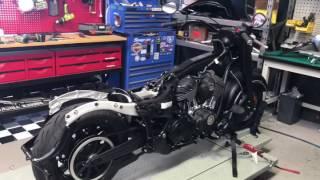 10. Bagger Tricks built Indian Darkhorse