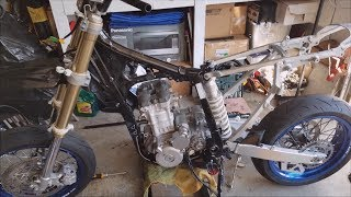 2. Engine Installation + Re-wiring - 2013 Suzuki DRZ400SM