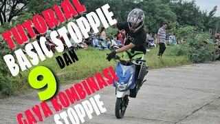 Video Stuntride / tutorial basic stoppie dan 9 macam gaya stoppie / freestyle motor MP3, 3GP, MP4, WEBM, AVI, FLV Juni 2019