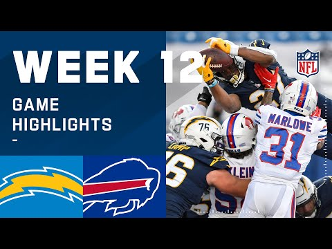 Chargers vs. Bills Week 12 Highlights | NFL 2020
