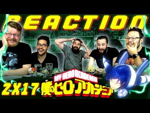 "My Hero Academia [English Dub] 2x17 REACTION!! ""Climax"""