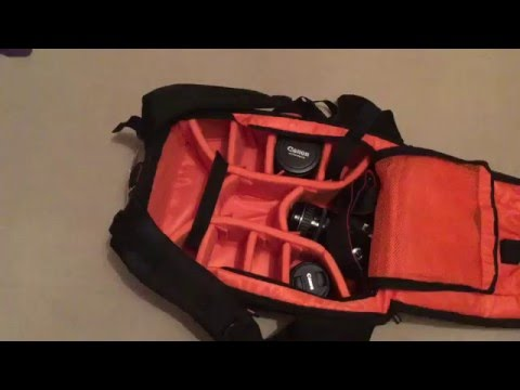 Review of: DSLR backpack (by K&F Concept) with space for two camera bodies