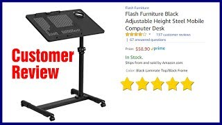 Video Height Adjustable Mobile Laptop Desk Cart - Best Rolling Stand MP3, 3GP, MP4, WEBM, AVI, FLV Februari 2018