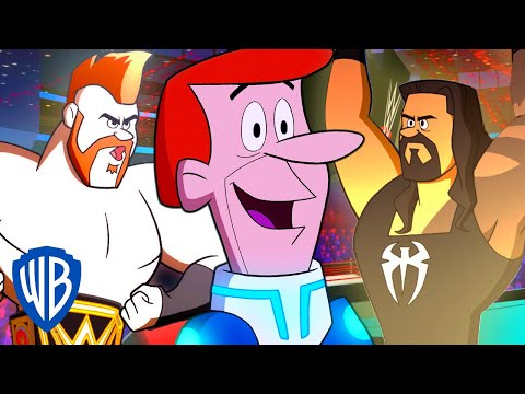 Jetsons & WWE: Robo-Wrestlemania! | In the Ring | WB Kids