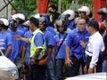 Malaysia GE13 (General Elections 2013): Scuffle outside the polling station in Ayer Itam