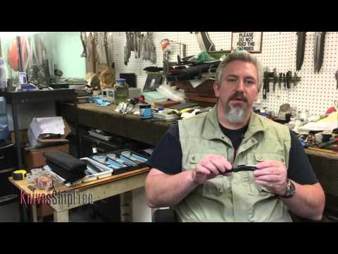 Todd Begg Talks About The Steelcraft Line Of Knives.