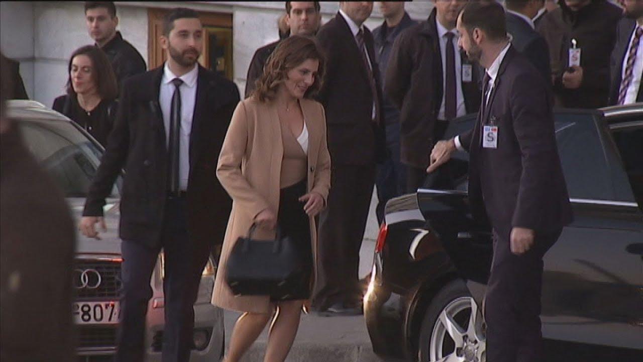 Σε κεντρικό ξενοδοχείο συναντήθηκαν Μπέττυ Μπαζιάνα και Εμινέ Ερντογάν