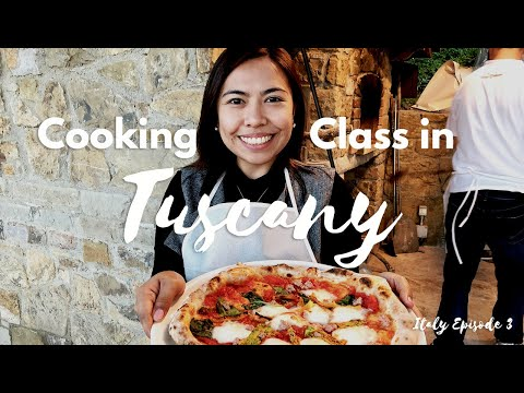 Italian Cooking Class At A Farmhouse In Tuscany - BEST Experience EVER! | Italy Travel Vlog