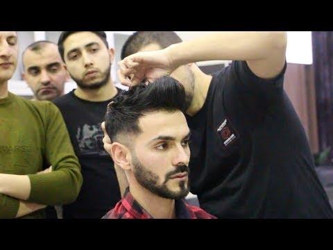 Mens hairstyles - MASTER-CLASS--HAIRCUT ,BAKU ,,Men's Hairstyle ,2019 #stilistelnar ,HAİRCUT
