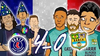 MSN seek pyschiatric help as Di Maria scores two! Cavani and Draxler score one! Goals & Highlights ⚽️Subscribe to 442oons: ...