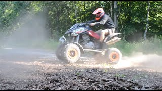 5. Bombardier DS 650 Can-am 2006 ATV Quad riding  (GoPro Hero 4)