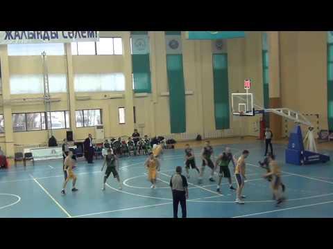 Кубок Казахстана по баскетболу 2013. 'Тобол'-'Барсы' (75:85)