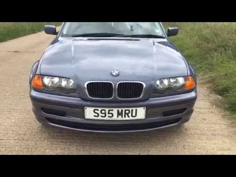 1998 BMW 318 318i AUTO E46 FIRST YEAR 3 SERIES VIDEO REVIEW