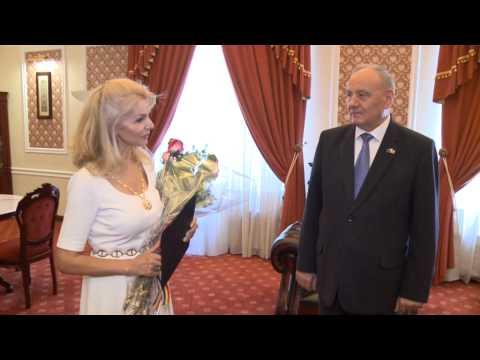 Președintele Republicii Moldova, Nicolae Timofti, a înmânat două distincții de stat