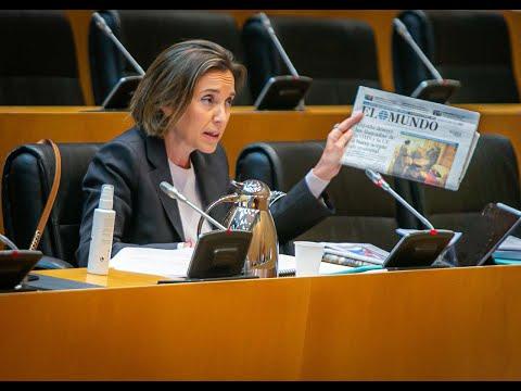 Réplica de Cuca Gamarra en la Comisión de Sanidad ...