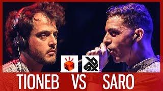 TIONEB vs SARO | Grand Beatbox LOOPSTATION Battle 2017 | FINAL