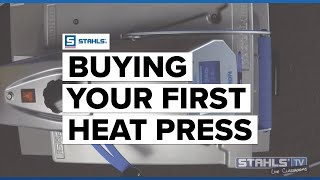 Stahls' TV : http://www.stahlstv.com/ Starting a T-shirt business with a heat press and heat transfers is fast, easy, and profitable. To get started and to m...