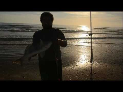 Big Shell, PINS, TX  Surf Fishing – Jan 2013