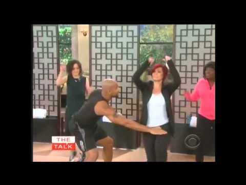 shaun t - http://www.FitnessWithSwaggHER.com Shaun T on The Talk showing how to fit back into your 