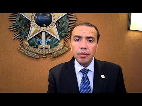 Presidente Eduardo Machado fala sobre posse de Adail Carneiro
