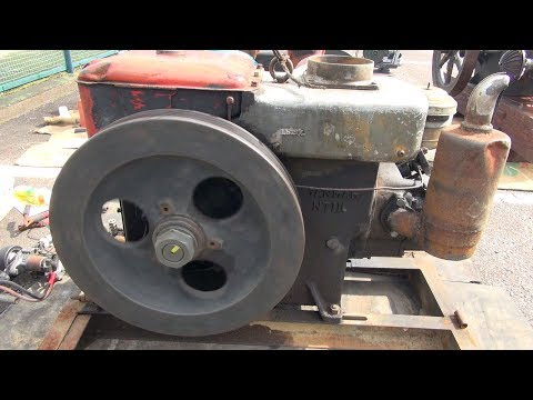 1950s YANMAR Diesel Type NT110 13hp Part 2 [Old Engines in Japan]