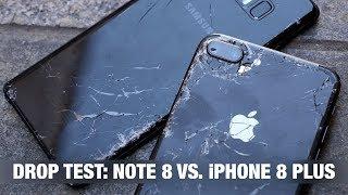 Video iPhone 8 Plus vs. Galaxy Note 8 - DROP TEST + IPhone prank MP3, 3GP, MP4, WEBM, AVI, FLV Juli 2018