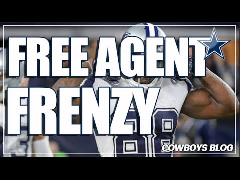 Dallas Cowboys Free Agent Frenzy Remains the Same