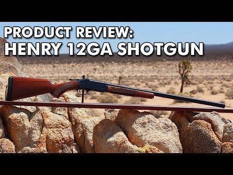 PRODUCT REVIEW: Henry 12ga Single Shot Shotgun H015-12